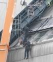 Bucky falls