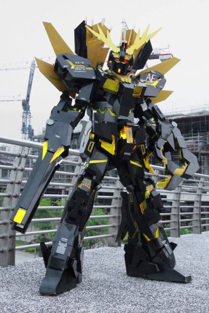 Clive Lee Cosplay Banshee Norn Gundam Unicorn 02