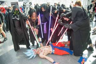 KOFitnessNY Cosplay Goku vs Siths