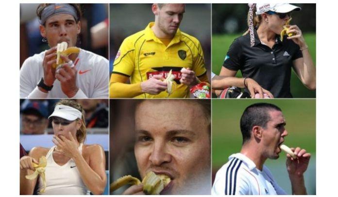 Kenapa Atlet Makan Pisang_