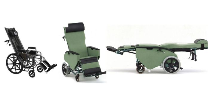 Kerusi roda baring (recliner wheelchair )