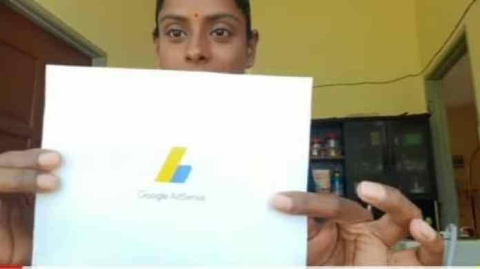Sugu Pavithra mendapat surat daripada Google Adsense
