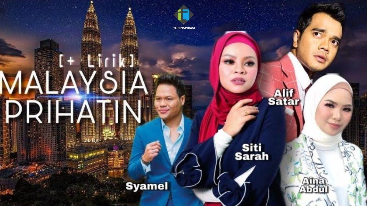 Lirik Lagu Malaysia Prihatin Lagu Tema Hari Kebangsaan 2020