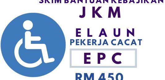 Syarat dan Cara Memohon Elaun Pekerja Cacat (EPC) Untuk Orang Kurang Upaya (OKU)