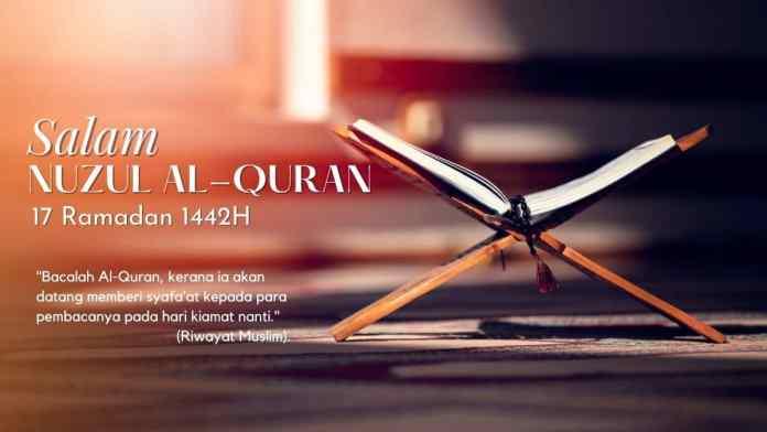 Tarikh dan Sambutan Hari Nuzul al-Quran 2021_1442H di Malaysia
