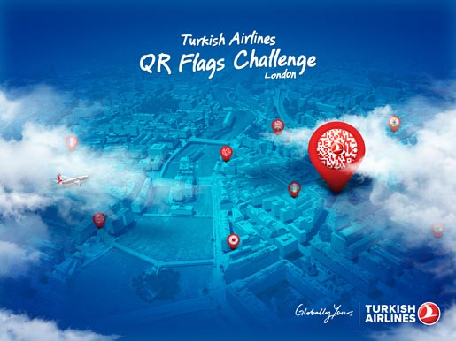 Turkish Airlines QR Flags Challenge
