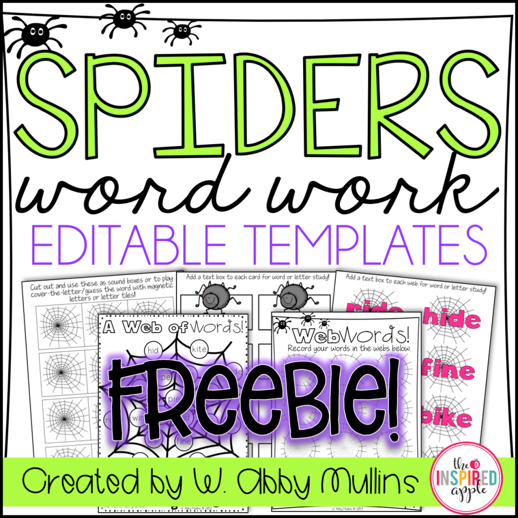 Spider Activities For Primary Students