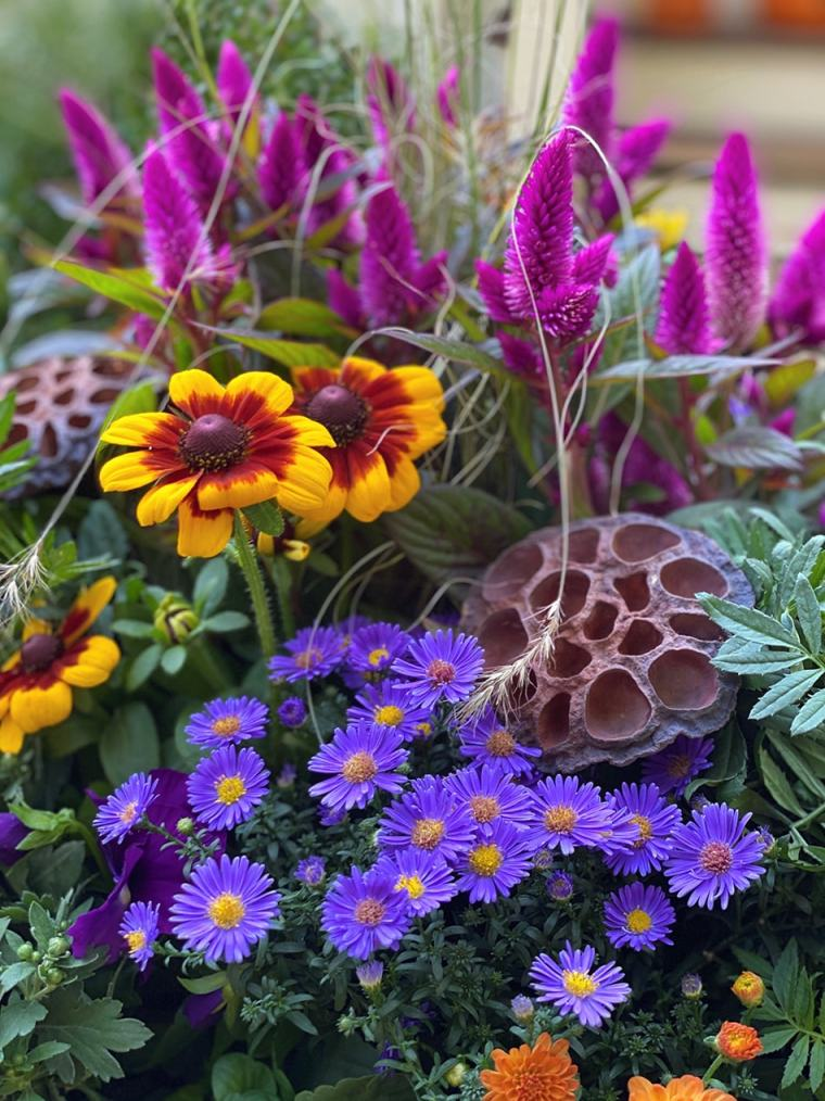 fall container closeup example