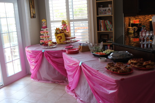 Princess Peach Birthday Party The Inspired Home