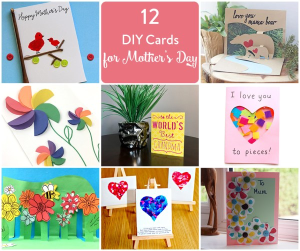 12 Mother's Day Card Ideas To Try • The Inspired Home