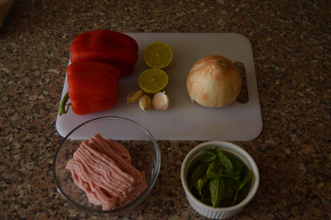 Spicy Thai Basil - Ingredients