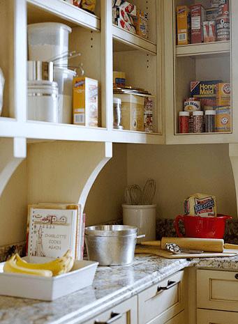 Fall Nesting Tips: #17 Baking Center - The Inspired Room