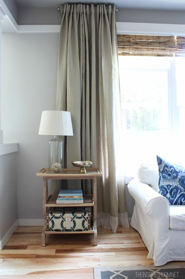 10 Questions Amp Answers About My Bamboo Blinds And Curtains The Inspired Room