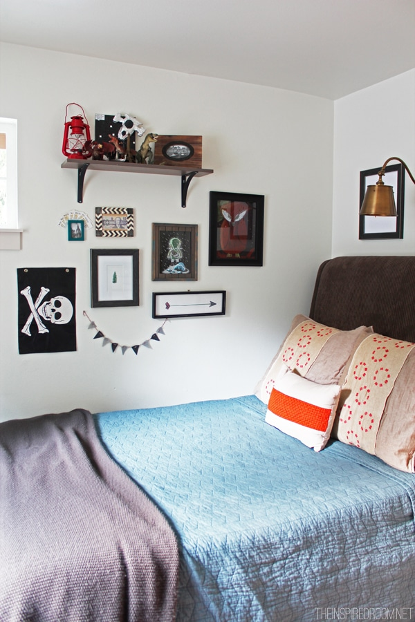 Teen Boy's Small Bedroom {An Update} - The Inspired Room on Teenage Boy Room  id=46895