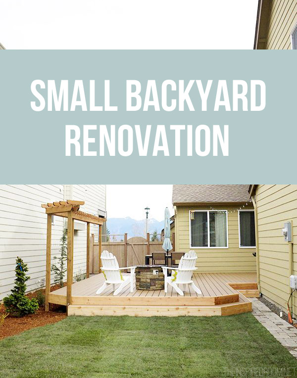 A Small Backyard Renovation and Deck Addition - The ... on Small Backyard Renovation Ideas id=19556