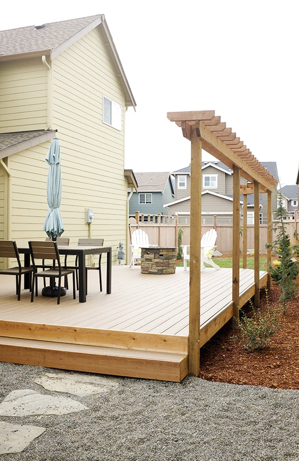 A Small Backyard Renovation and Deck Addition - The ... on Small Yard Deck id=63946
