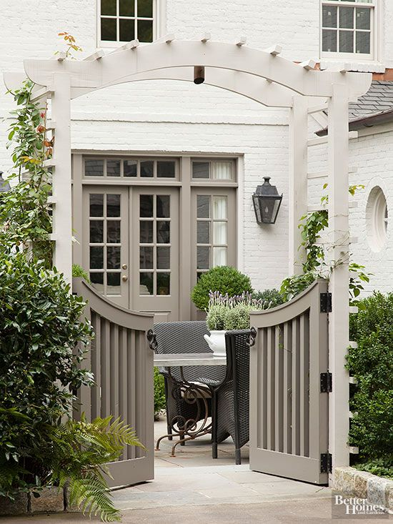 Inspired By: Charming Garden Gates - The Inspired Room on Gate Color Ideas  id=67888