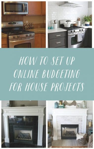 How to Set Up Online Budgeting for House Projects and Goal Setting - You Need a Budget - The Inspired Room