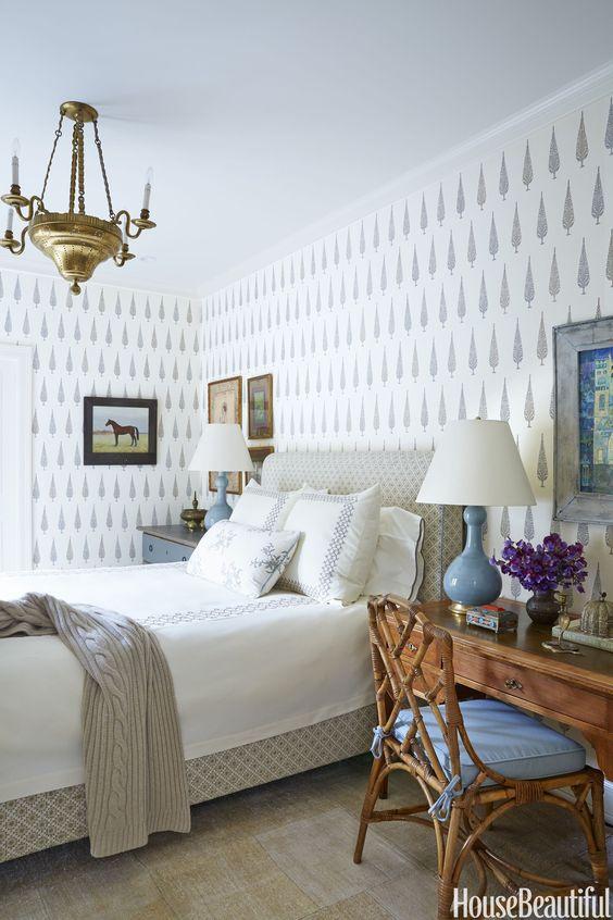 Beautiful Bedroom Wallpaper Ideas | The Inspired Room on Beautiful Room Pics  id=96416