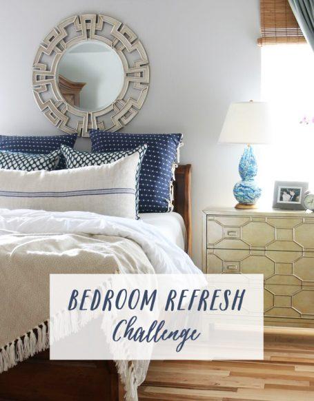 Bedroom Refresh Challenge - The Inspired Room