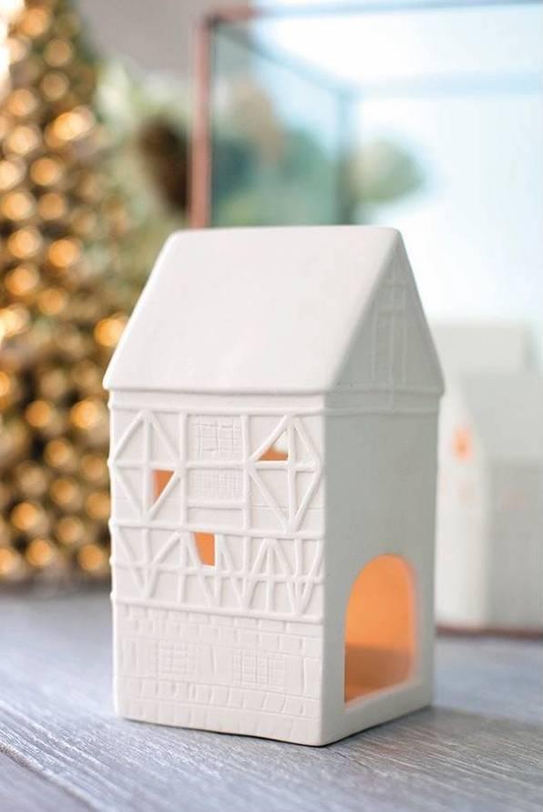 Christmas Village Houses