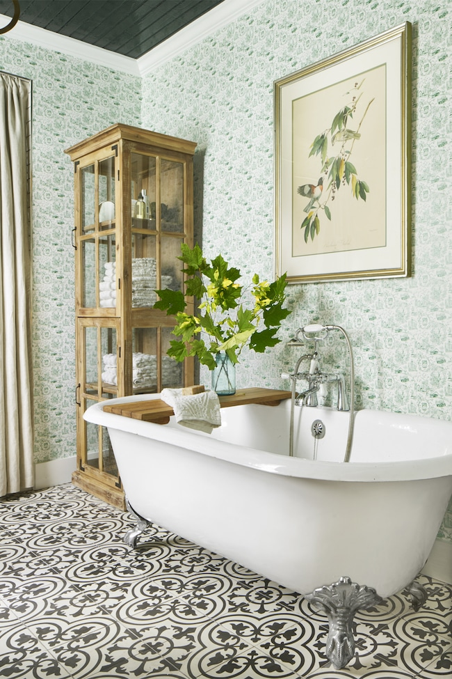 Beautiful Bathroom Remodeling Ideas - The Inspired Room on Rural Bathroom  id=25960