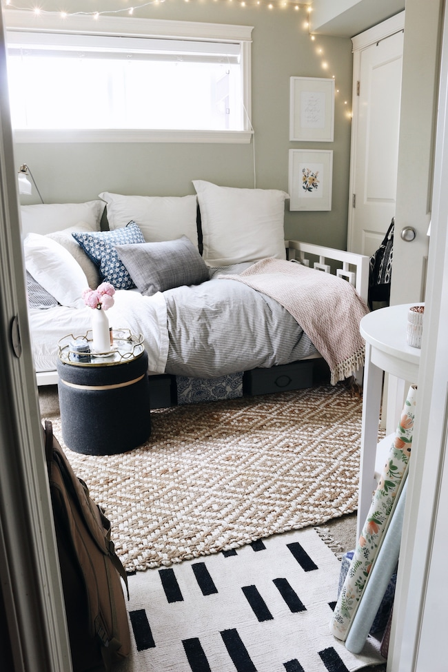 Tiny Bedroom Tour (Courtney's Room) - The Inspired Room on Girls Bedroom Ideas For Very Small Rooms  id=55586
