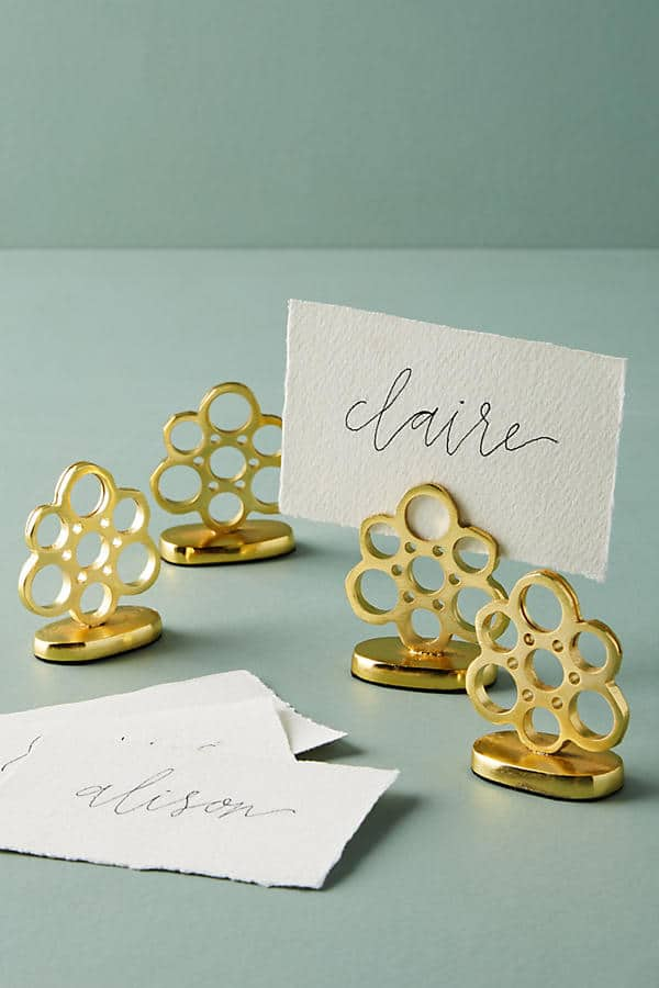 A Place At The Table Festive Place Card Holders The