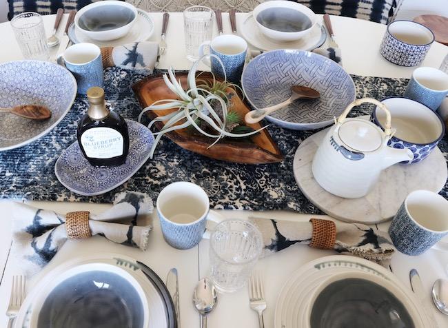 Dining Room + Mother's Day Brunch