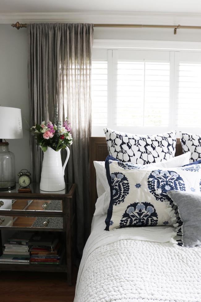 Bedroom Makeover - New Bed, Rug & Bedding!