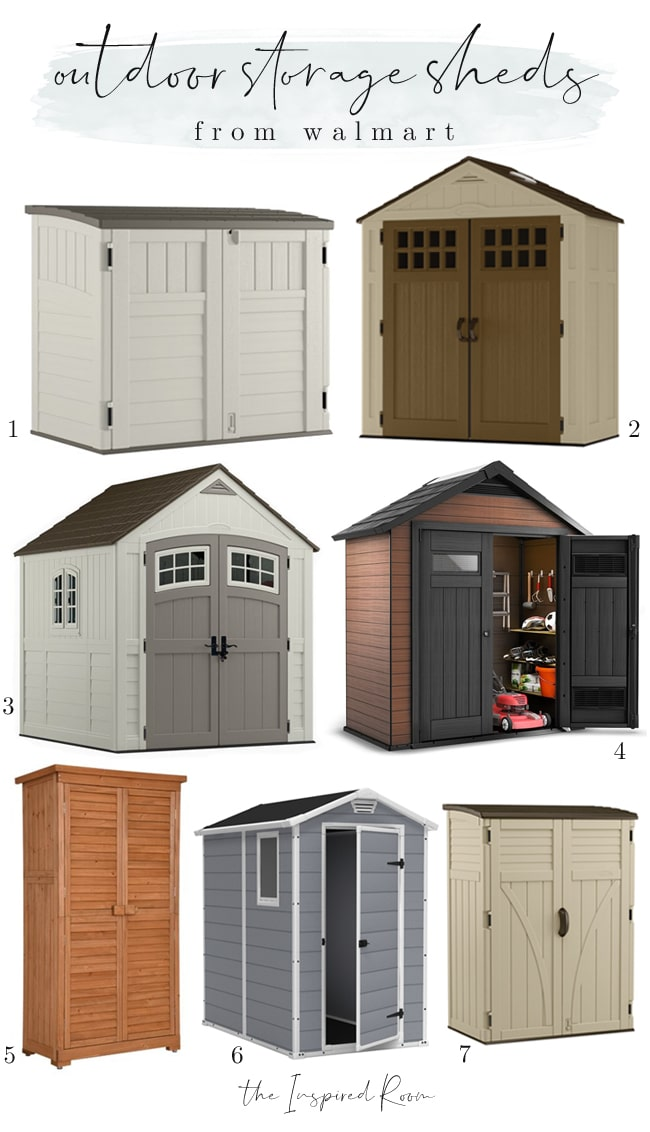 outdoor cushion storage shed diy and