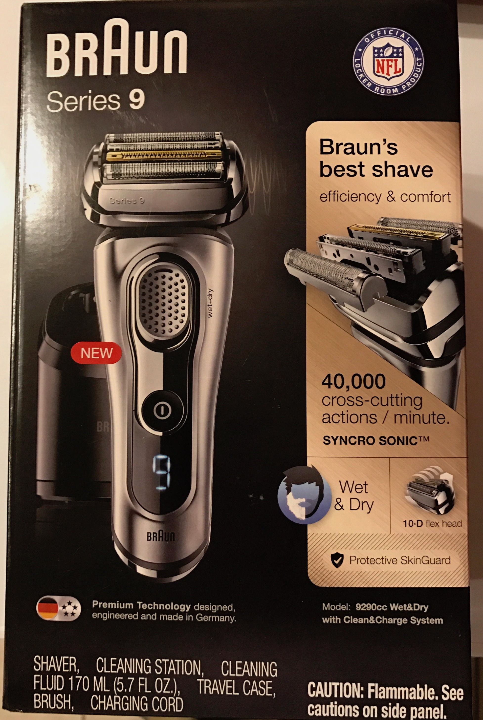 braun series 9 shaver review the inspiring dad. Black Bedroom Furniture Sets. Home Design Ideas