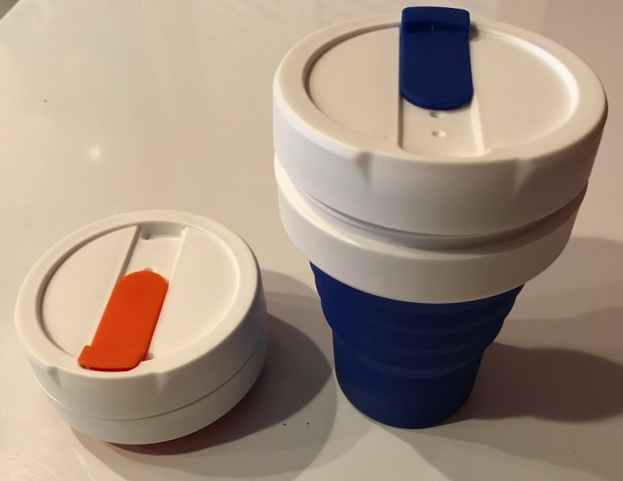 The Collapsing Coffee Cup