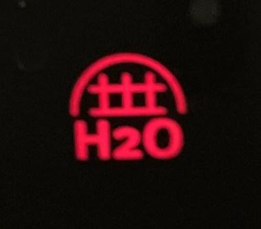 Red H2O Light on Whirlpool Refrigerator