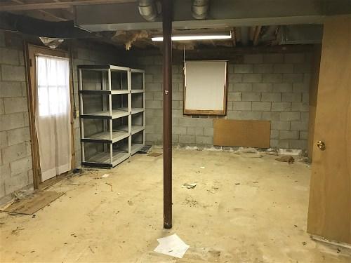 resized basement value add bedroom value budget renovation house flip raleigh shenandoah