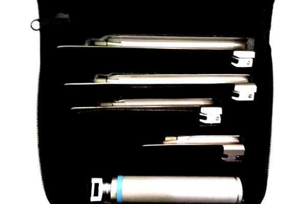 Miller Laryngoscope set 5-1