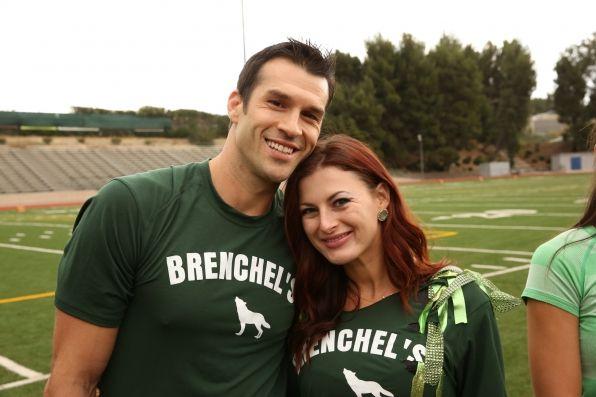 Brendon and Rachel on The Amazing Race.