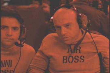 Mark Anthony Cox and Dean Norris on JAG