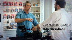 Martin Banks, owner of Video Gear
