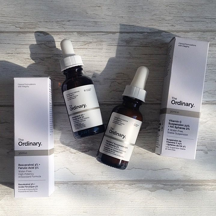 The Ordinary - vitamina C + Ferulic