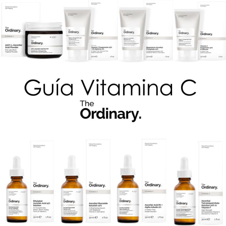 The Ordinary: Guía de Vitamina C