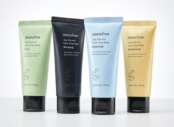 Mascarillas Jeju Volcanic Color Clay Mask de Innisfree