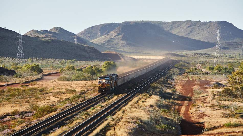 Rio Tinto's Autohaul train, Pilbara