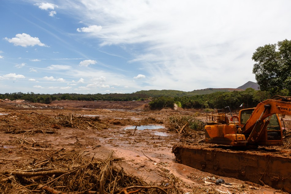 Tailings dams are an example of dealing with the consequences of models that are no longer fit for purpose. Image: Diego Baravelli/Wikicommons