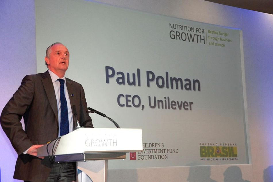 Paul Polman managed to change Unilever's investor base to one better aligned with his vision for the company. Image: Russell Watkins/Department for International Development