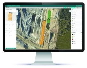 A desktop view from HxGN MineEnterprise. Image: Hexagon