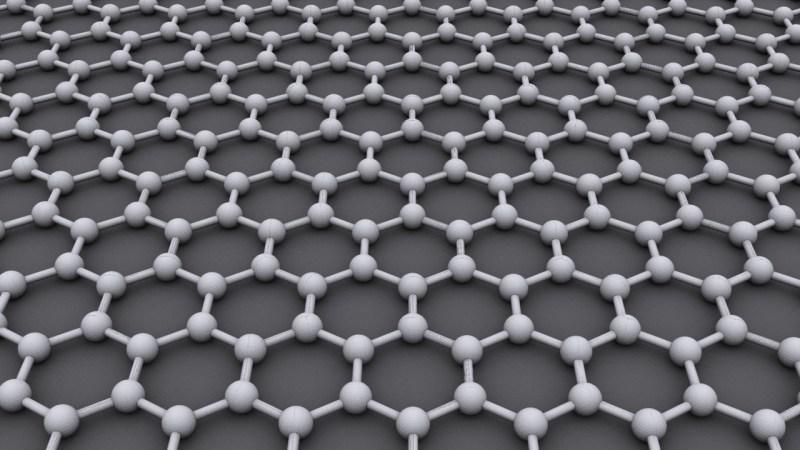 Graphene hexagonal lattice
