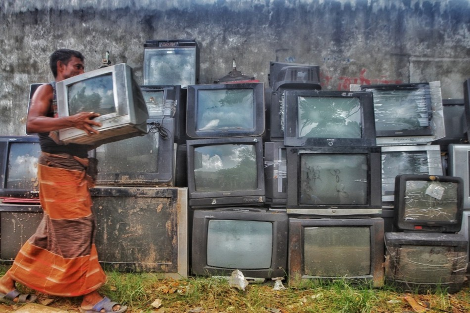 Hundreds of thousands of tonnes of e-waste are sent every year from developed regions to developing countries, supposedly for recycling. Image: Pixabay