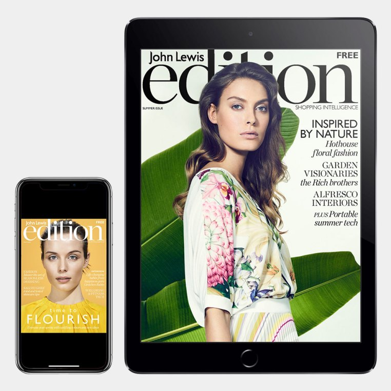 Digital publishing - Edition magazine cook and John Lewis technology