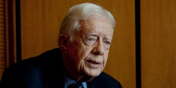 Jimmy Carter: The U.S. Is an ?Oligarchy With Unlimited Political Bribery?
